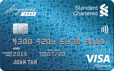 find out more about SCB SingPost visa platinum