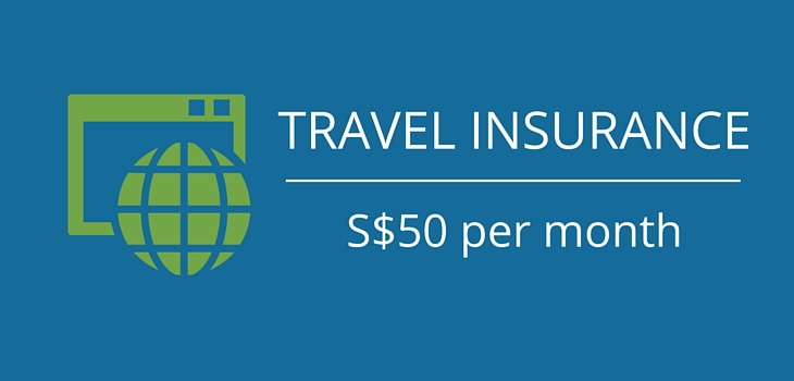 travel insurance costs of a singaporean digital nomad