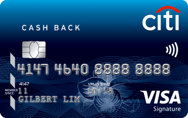 Citi Cash Back Card - SingSaver