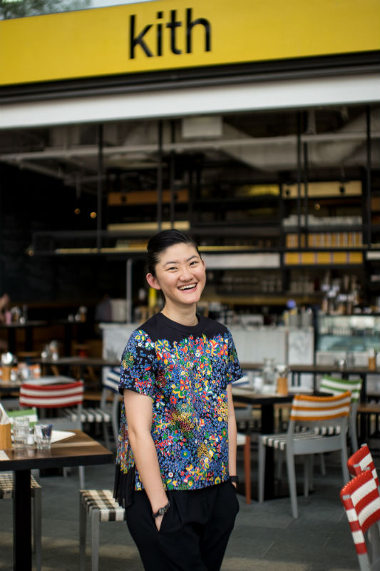 Jane Hia, CEO and founder of Kith Cafe