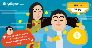 Meet Rose and Jack, the Stars of SingSaver.com.sg's TV Commercial