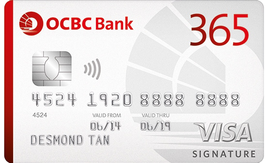 OCBC 365 Credit Card