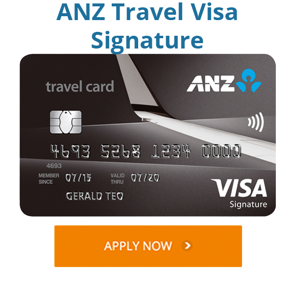 ANZ Travel Visa Signature
