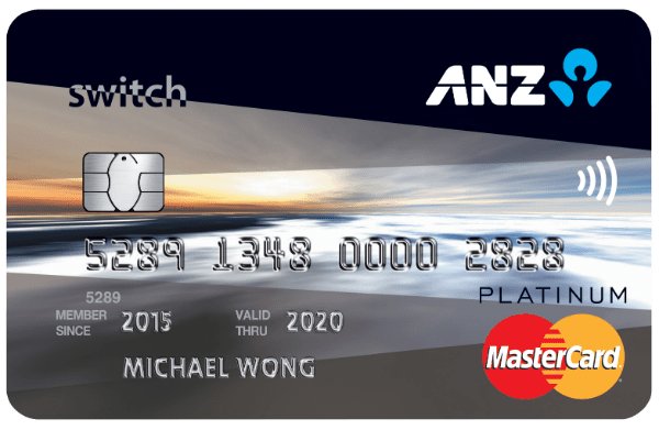 ANZ Switch Platinum Credit Card