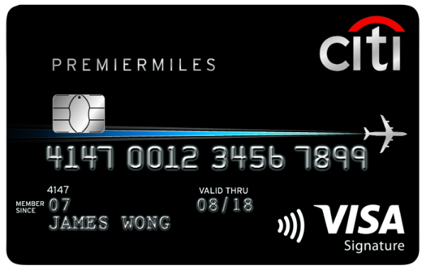 Citi PremierMiles Visa Card - Apply Now