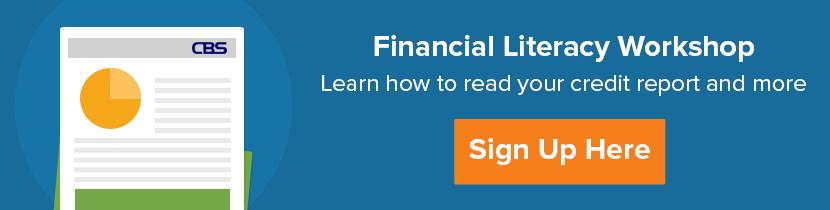 Financial Literacy Workshop Banner