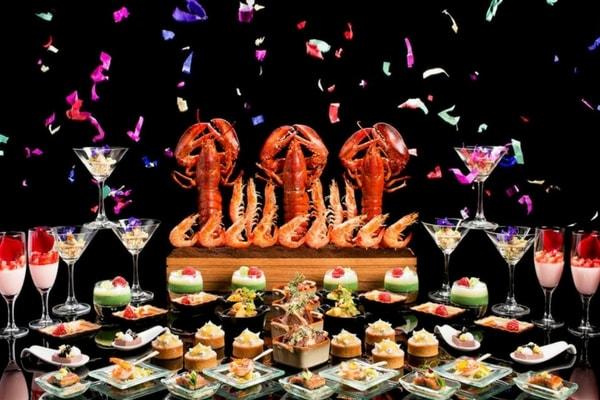 citibank buffet promotion Lobby Lounge, Conrad Centennial Singapore