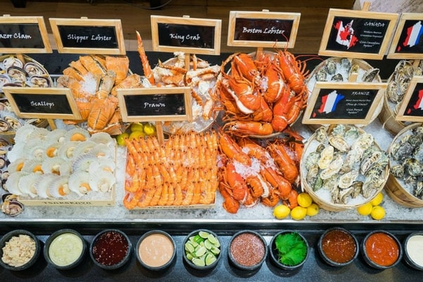 citibank buffet promotion Oscar's, Conrad Centennial Singapore