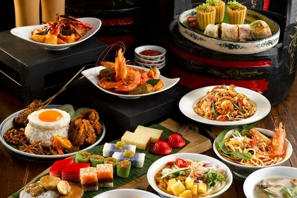 citibank buffet promotion at Princess Terrace Cafe, Copthorne Kings Hotel