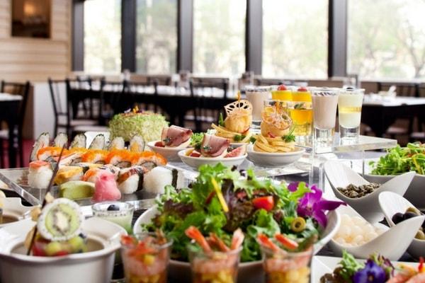 citibank buffet promotion at Atrium Restaurant, Holiday Inn Singapore Atrium