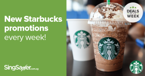 Every Starbucks Promotion and 1-for-1 Deal in Singapore this 2017
