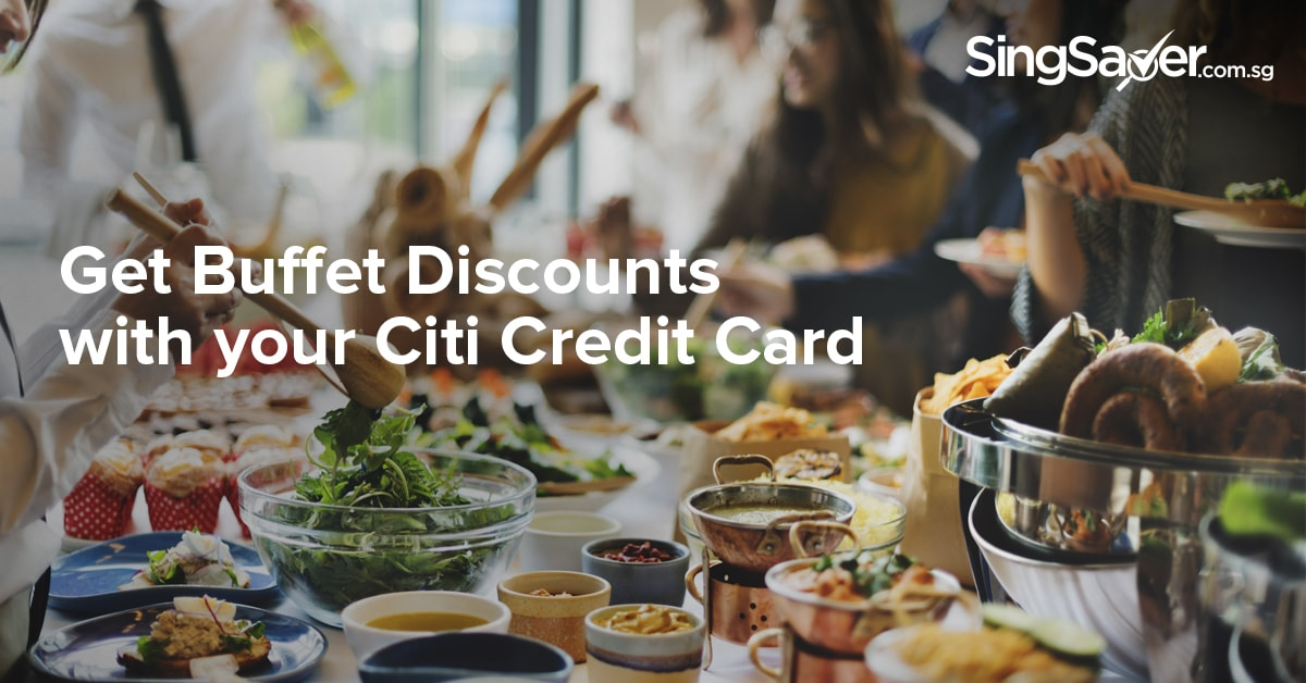 citibank credit card buffet promotions
