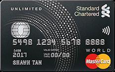 Standard Chartered Unlimited Cashback Credit Card - SingSaver