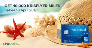 Amex is Giving Out 10K Bonus Miles on the KrisFlyer Credit Card!