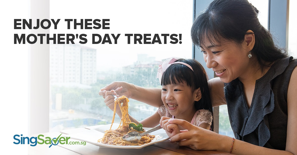 mother's day dining promo in singapore 2017