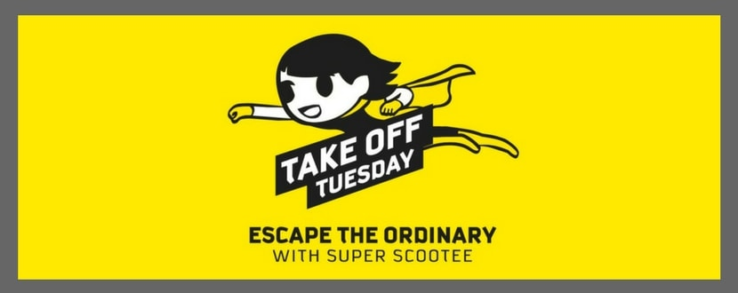 Scoot Take-off Tuesday Deals