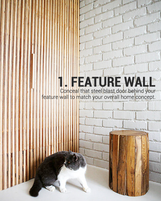 white brick wall and cat