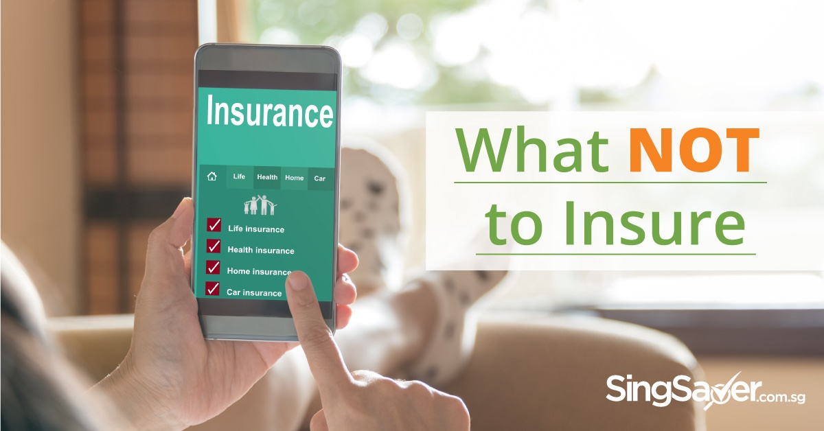 person using mobile to browse insurance information