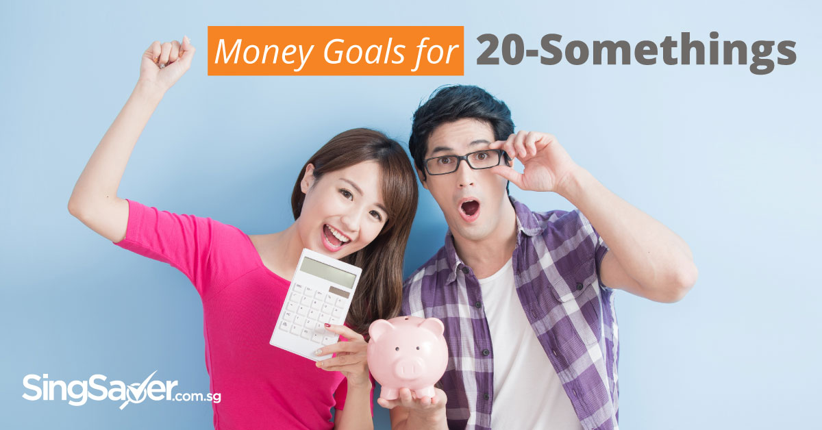 boy and girl holding a calculator and piggy bank