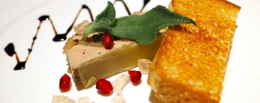 Foie Gras fine dining
