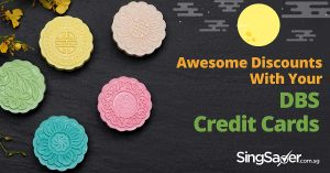 All Mooncake Promotions for DBS Credit Cards this 2017