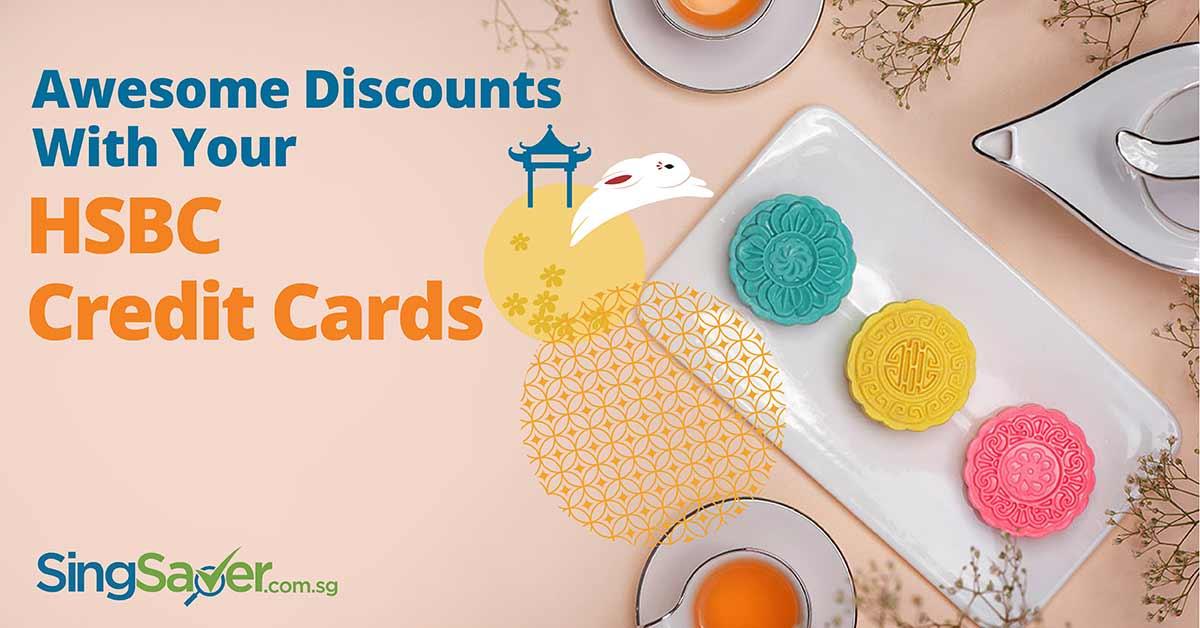 hsbc credit card mooncake promotion