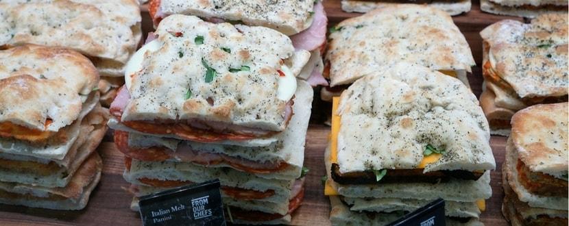local panini sandwiches