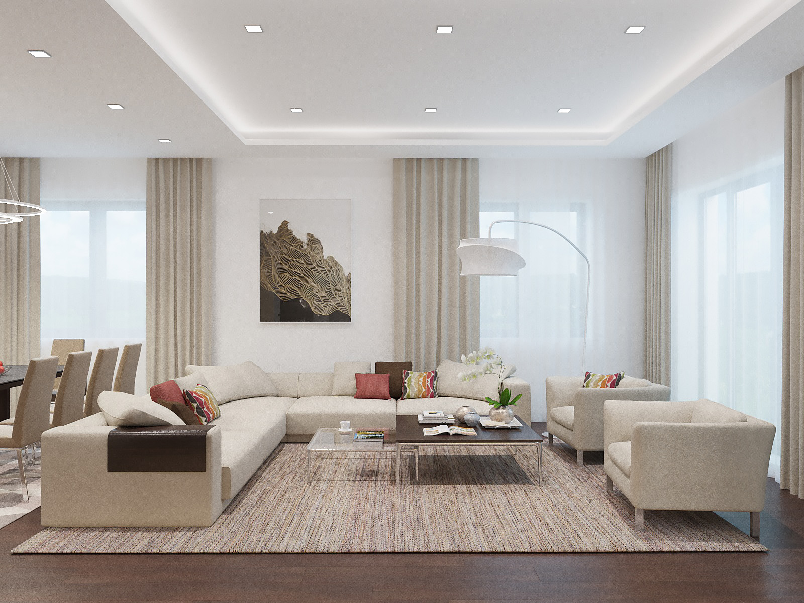 home interior modern decorate