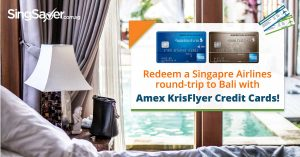 Get a Free Round-trip to Bali on Singapore Airlines with American Express