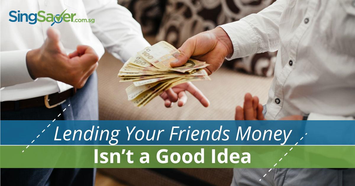 lend friends money