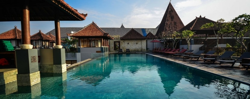 timeshare holiday resort with pool