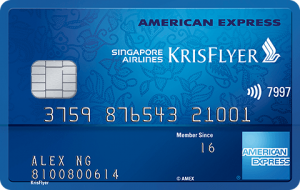 Apply for Amex KrisFlyer Credit Card and Earn Air Miles