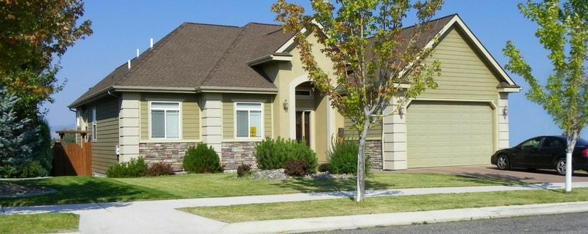 American home suburb