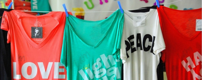natural laundry products for t-shirts