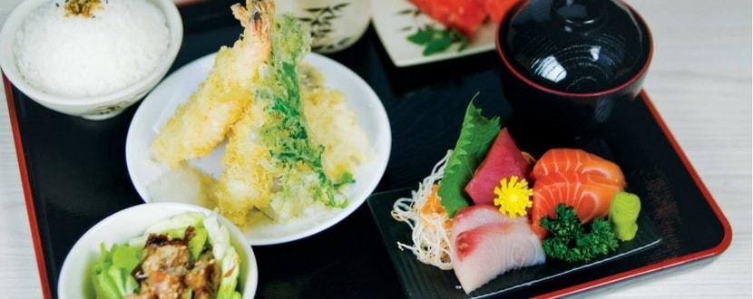 japanese buffet lunch promotion Shin Minori free