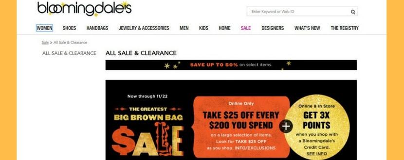 black friday sales on bloomingdales
