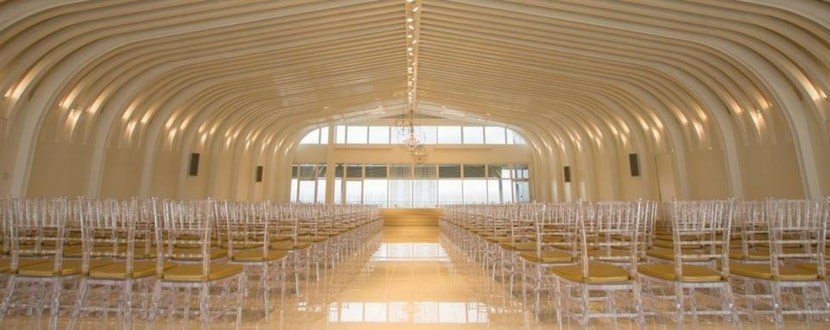 The Chapel at Imaginarium as a wedding location