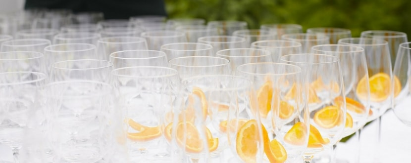miscellaneous banquet glasses costs