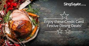Christmas Buffets and Dining Deals in Singapore 2018