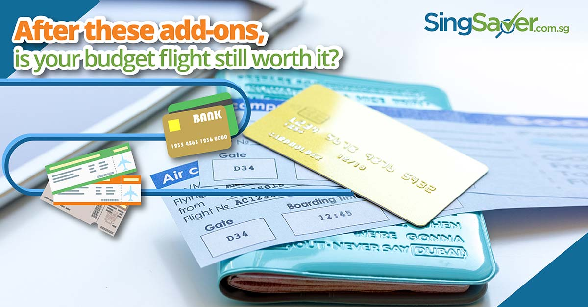 Budget Airlines Additional Fees - SingSaver