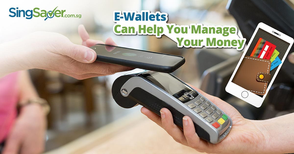 person using ewallet to make payment  - SingSaver