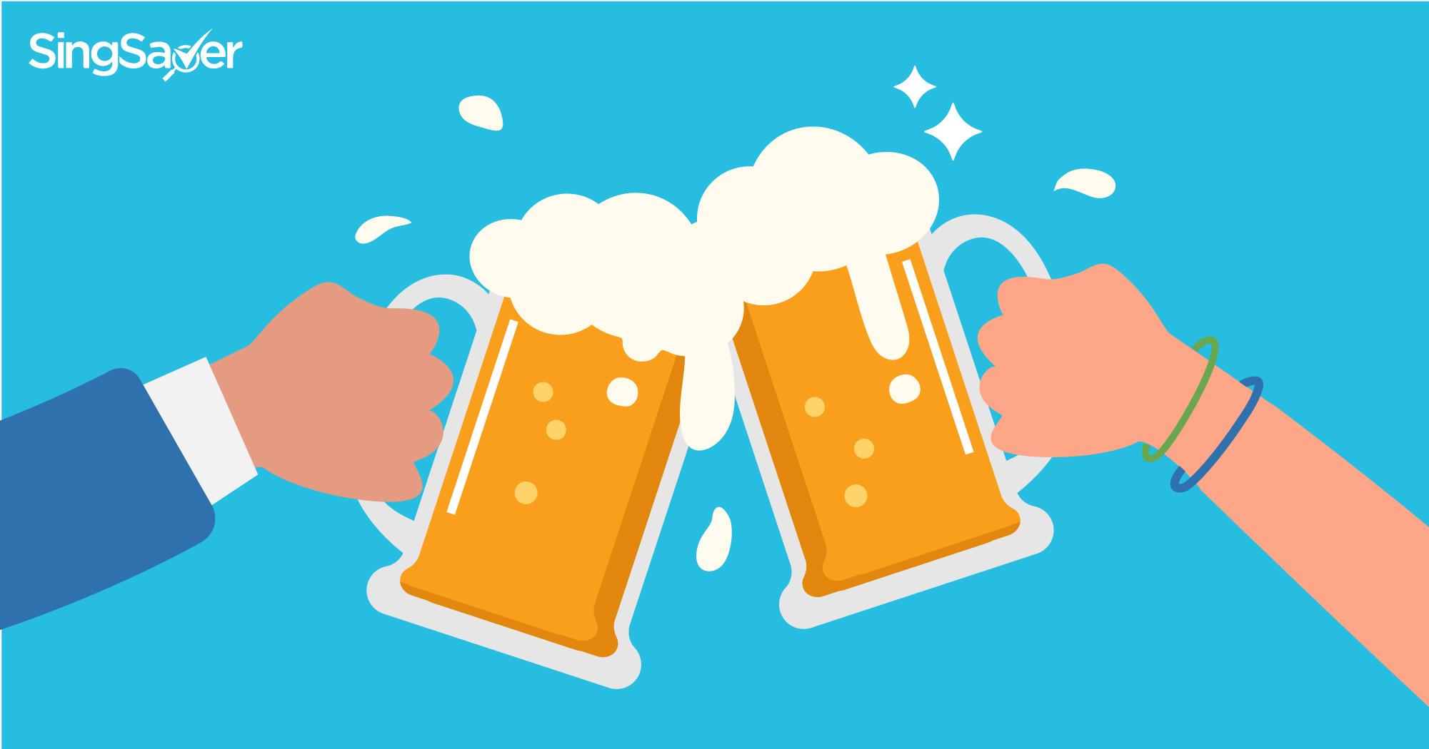 friends cheers beer - SingSaver