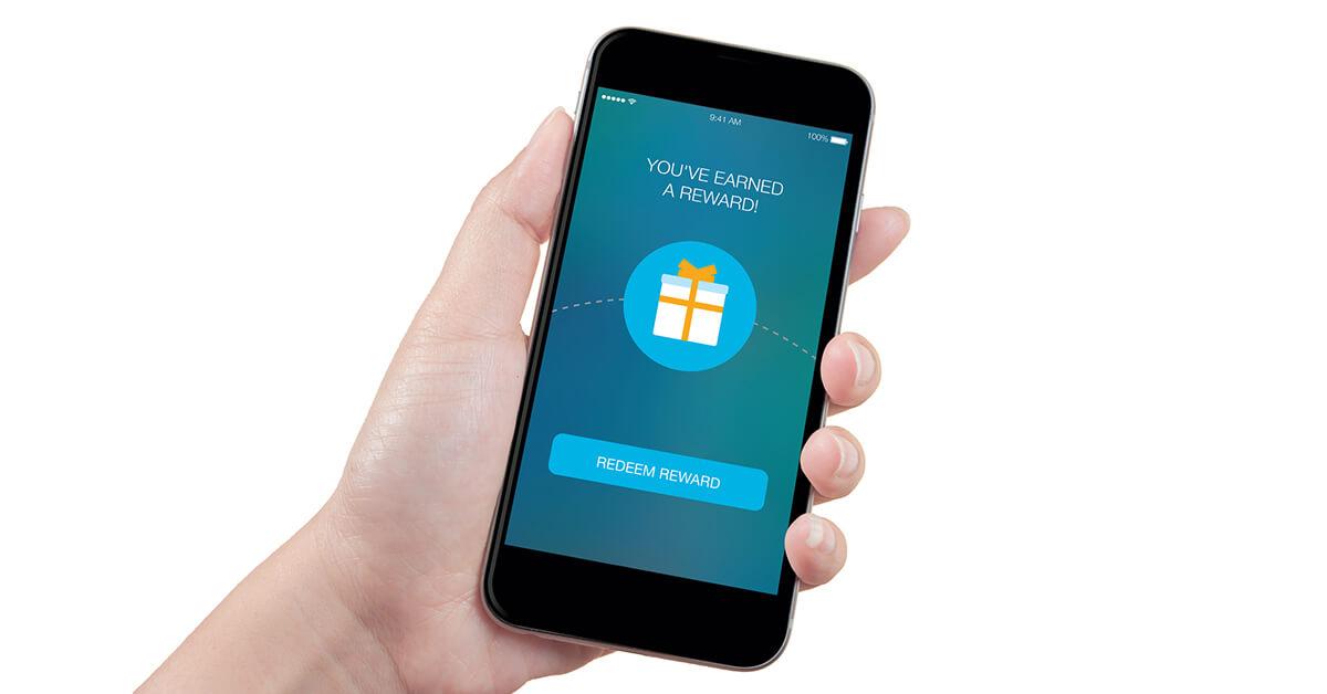 Mobile phone- reward display - SingSaver