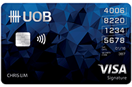 UOB Visa Credit Card