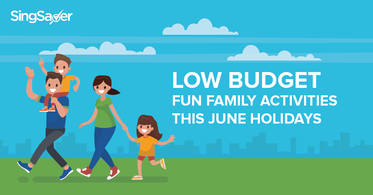 Family going on a holiday with a budget -SingSaver