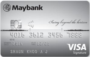 maybank credit card -SingSaver