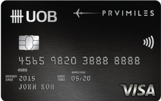 uob bank credit card -SingSaver