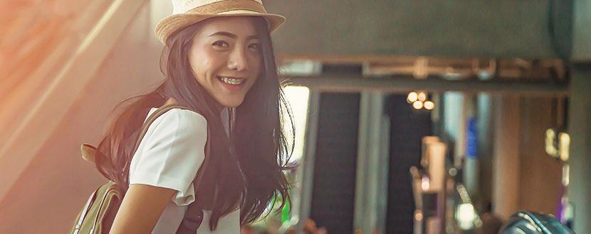 girl smiling -SingSaver