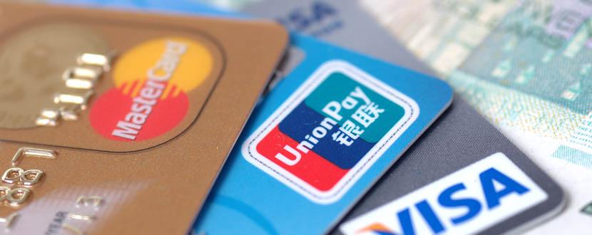 close up of credit cards -SingSaver