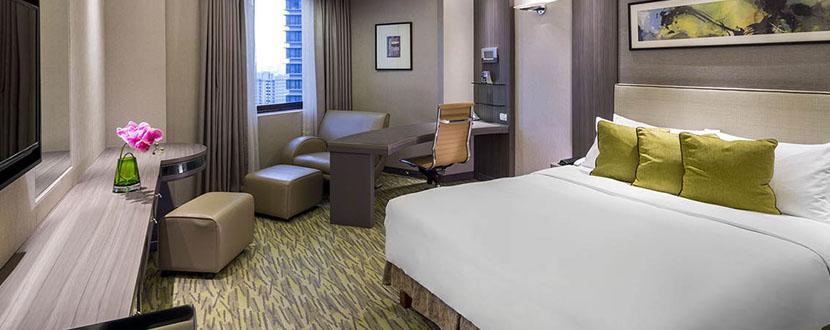 Interior of a hotel room -SingSaver